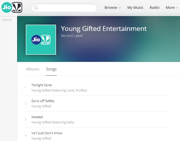 Verified!!   Artist/Label Page... Young Gifted Entertainment