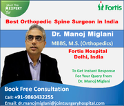 Dr. Manoj Miglani Combining Experience With Innovation in Orthopedics Surgery
