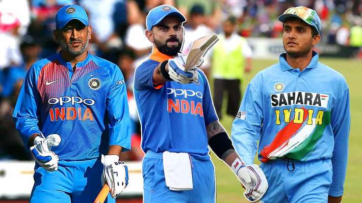 Captaincy Records: Sourav Ganguly, MS Dhoni & Virat Kohli - Sports ...
