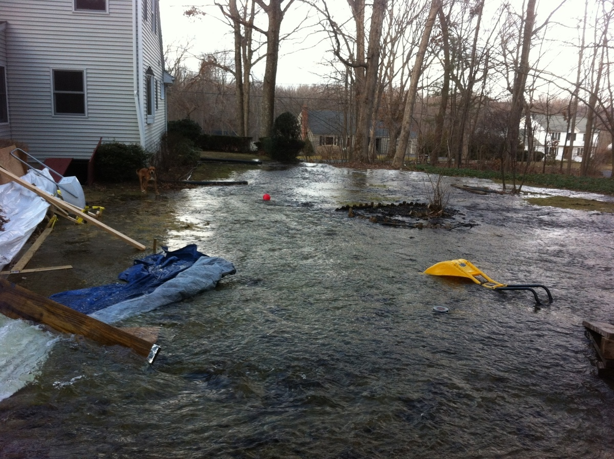 Rink Liner Blowout - Photos - My Backyard Ice Rink -World ...