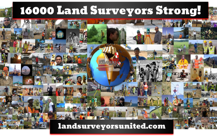 16000 Land Surveyors, PLS and RPLS of Today
