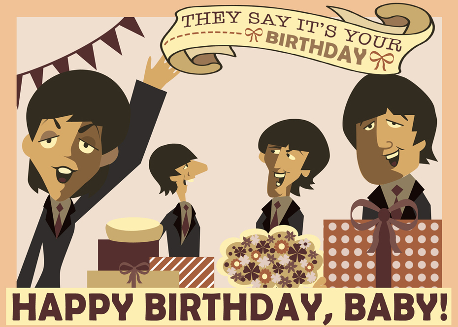 Beatles Card