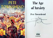 Pete Townshend signed The Age of Anxiety