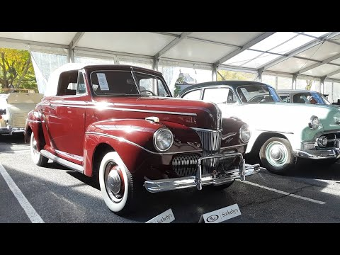 1941 Ford Super Deluxe Convertible Top Up or Top Down,It's Tops! At the 2019 RM Sotheby's,Hershey