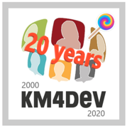 KM4Dev 20 2000-2020 celebrations
