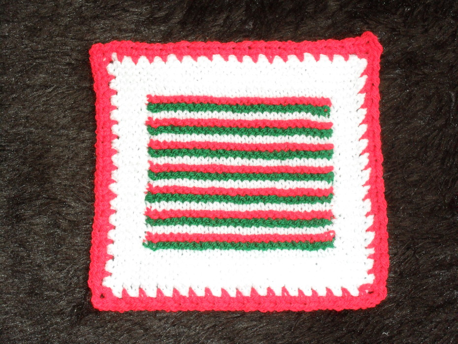 Framed Stripes Square Take 2