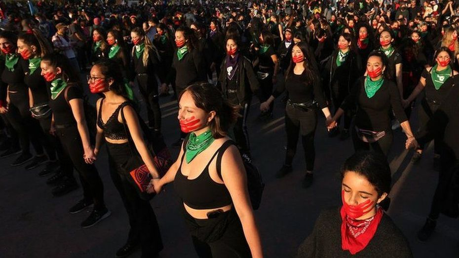 In pictures: Global protests denounce violence against women