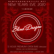 Blind Dragon New Year's Eve | Open Bar