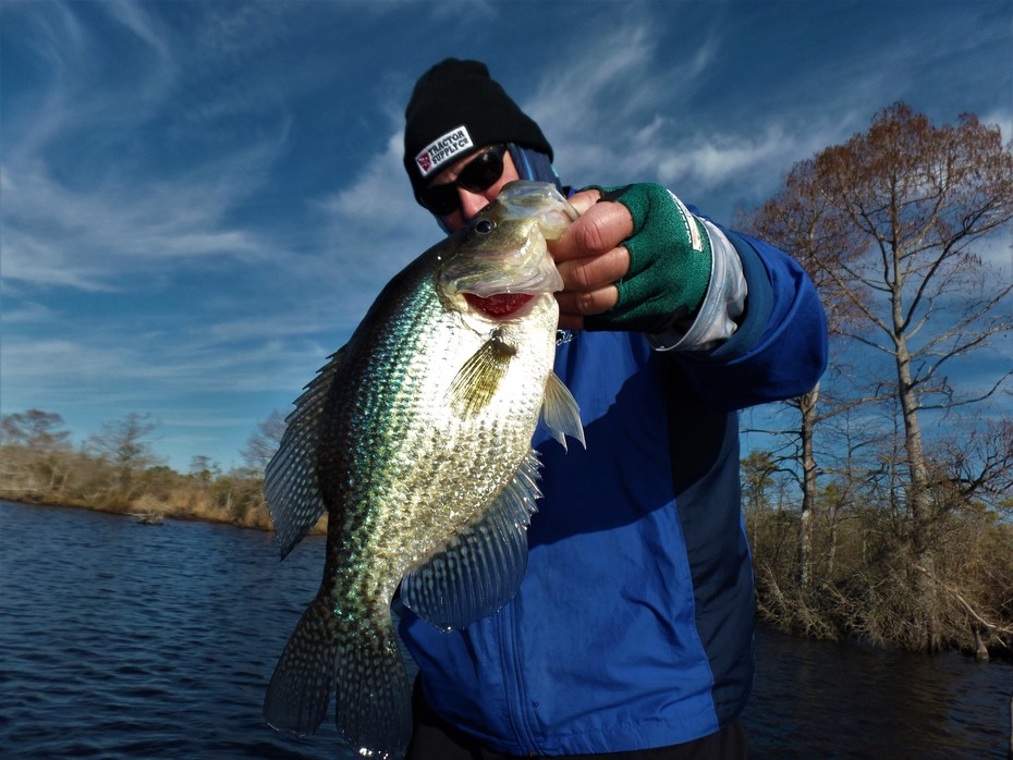December Produces Rock Star Crappie........
