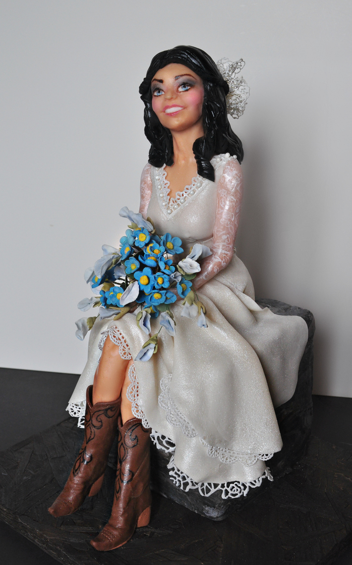 Bride in Boots - Couture Caker's Collaboration 2019