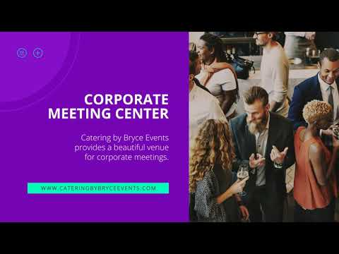 Corporate Party, Meeting, and Event Center in Draper