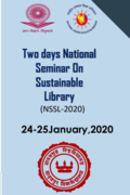 Two Days National Seminar on Sustainable Library (NSSL-2020)