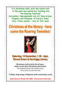 Christmas at the Library - here come the Roaring Twenties!