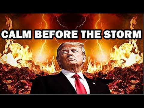 Donald Trump - The Beast (RFID CHIP) The WALL is the Robots (KEEPING YOU IN) Calm Before The Storm!