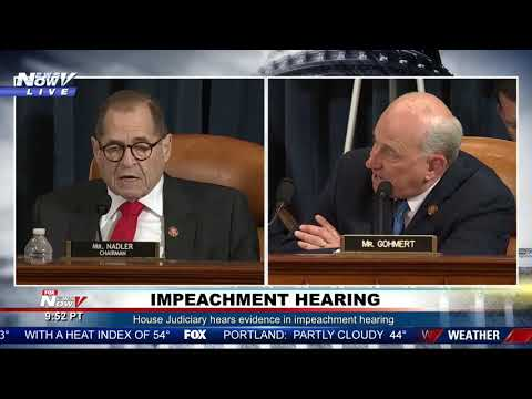 WHAT IS THIS?! The MOST Bizarre Moment at President Trump Impeachment Hearing