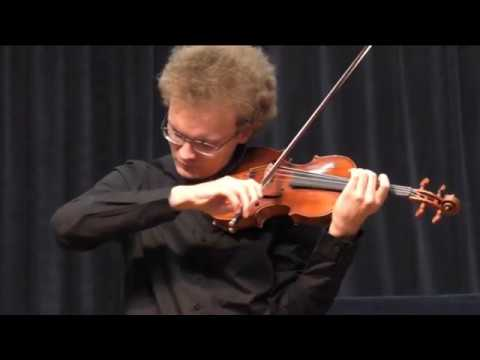 Johann Sebastian Bach   Chaconne, Partita No  2 BWV 1004 for violin solo