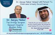 Dr. Sanjay Nabar Helped UAE Patient To Overcome Urinary Incontinence