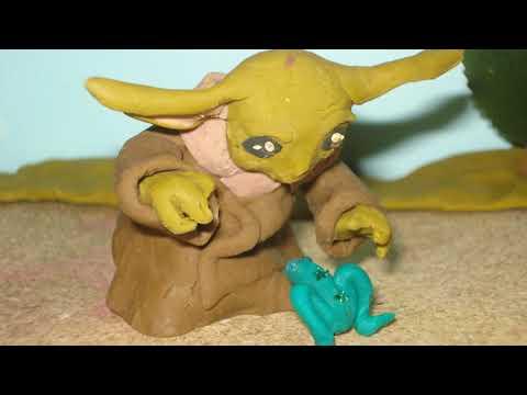 Baby Yoda Clay Animation test