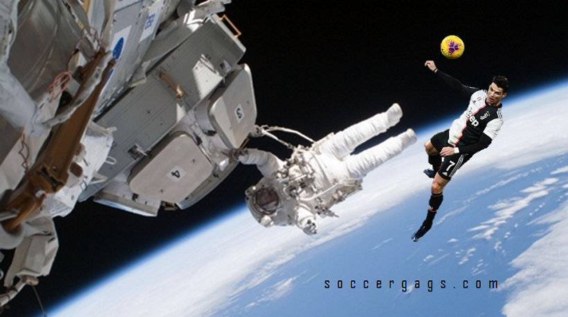 CR7 Spotted by Astronauts