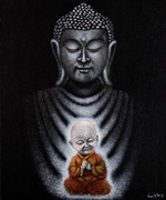Buddha and the Child Monk