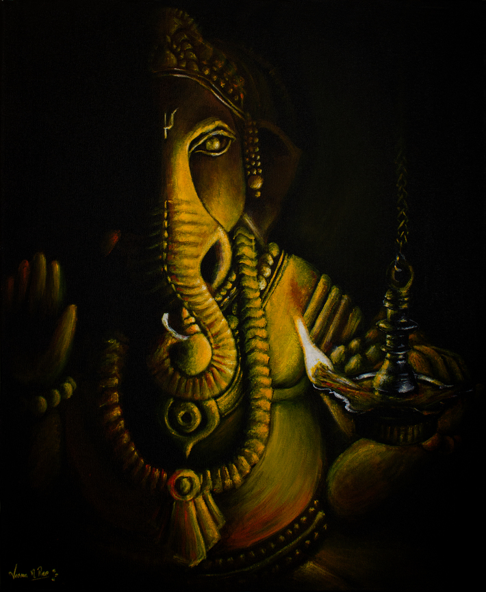The Illuminated Ganesha