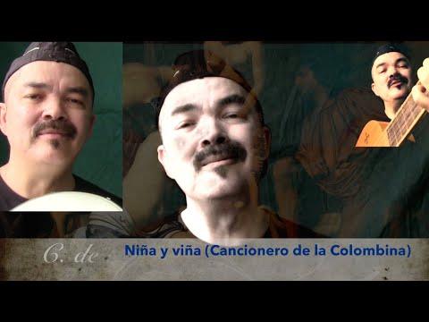Niña y viña (C.de la Colombina1451-1506) by Rómulo Vega-González