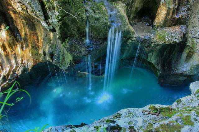 Triglev National Park near Bovec in Slovenia
