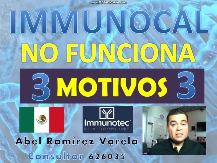 COMO TOMAR IMMUNOCAL CORRECTAMENTE (3 MOTIVOS)