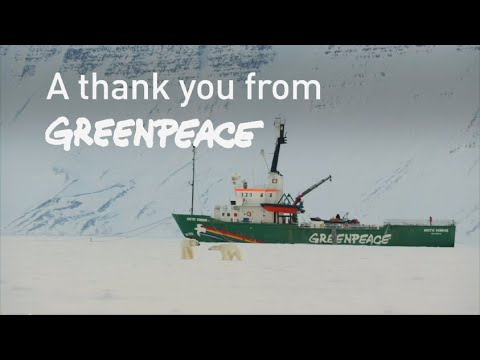 A thank you from Greenpeace 2019