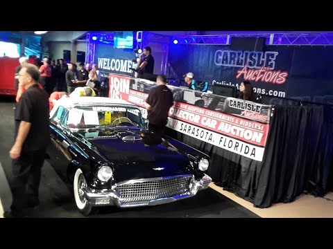 1957 Ford Thunderbird With OEM Supercharger  At the 2019 Fall Carlisle Auction