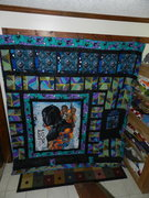 King Size Black Panther Quilt