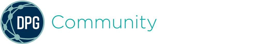 DPG Community Logo