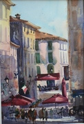 Another Day en plein air Lucca Italy