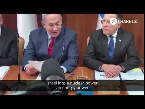 Netanyahu accidentally saying Israel is a 'nuclear power'