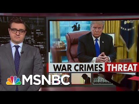 Donald Trump's record of endorsing War Crimes MSNBC Chris Hayes