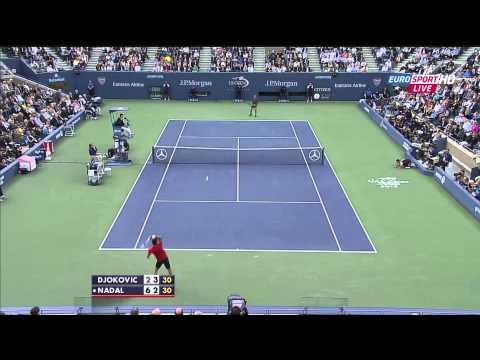 Nadal vs. Djokovic 2013 US Open Final