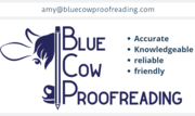 Blue Cow Proofreading