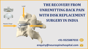 THE RECOVERY FROM UNREMITTING BACK PAIN WITH DISK REPLACEMENT SURGERY IN INDIA