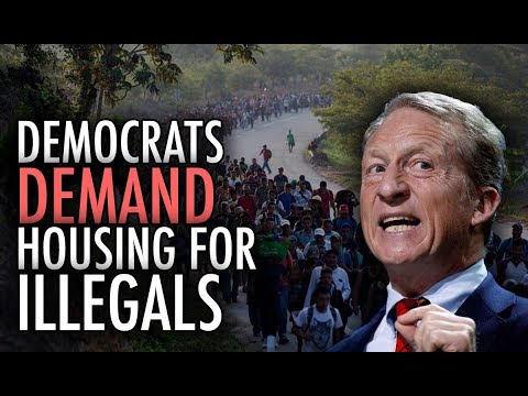 "Democrats DEMAND Housing for Illegals... How Can Anyone Who is ""Pro-Worker"" Support Them?"