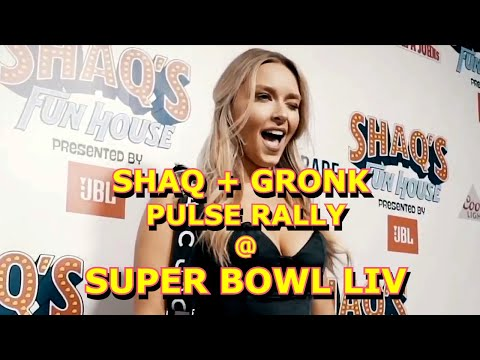 Biggest Super Bowl Party Ever - Miami!  Shaq's Fun House & Gronk Beach join forces with Pulse Rally.