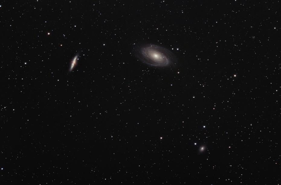 M81, M82 och NGC 3077
