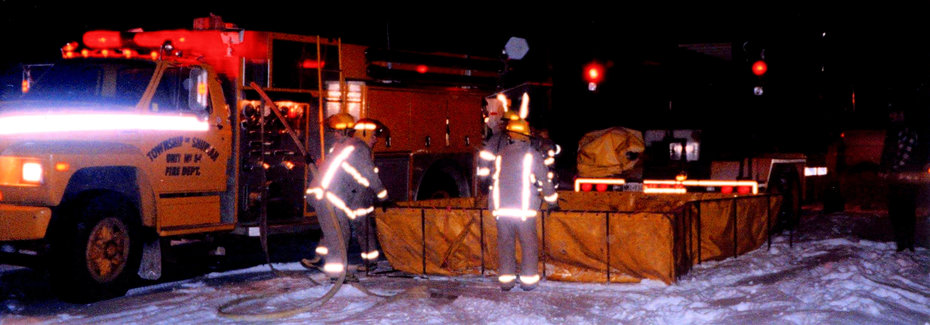 -25 Degree Winter Pumper / Tanker Ops Training