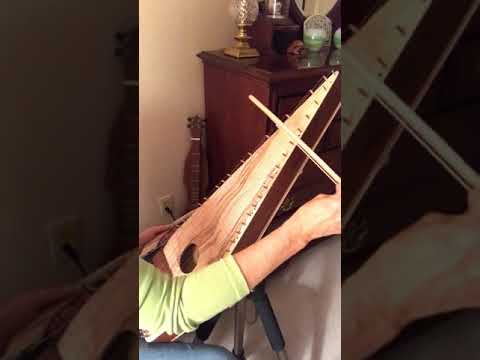 Rock of Ages - bowed psaltery