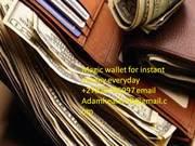 Money Magic Wallet to stop poverty call Adam Healer +27820706997