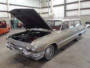 2020 Dragfest 1963 Chevrolet Bel Air station wagon