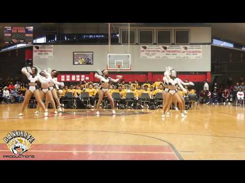 "Donaldsonville High ""Tigerettes"" Field Show Routine@2020 Underground Showdown Botb"