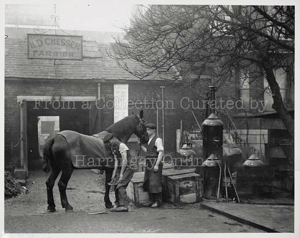 Chesser's Blacksmith, Wood Green 1926
