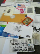 Mail art by Richard Canard (Carbondale, Illinois, USA)