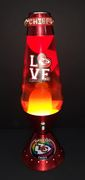 K.C.Chiefs lava lamp