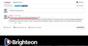 Brighteon Censors Comments